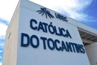 Vestibular 2017.2 da Católica-TO oferta vagas para 12 cursos