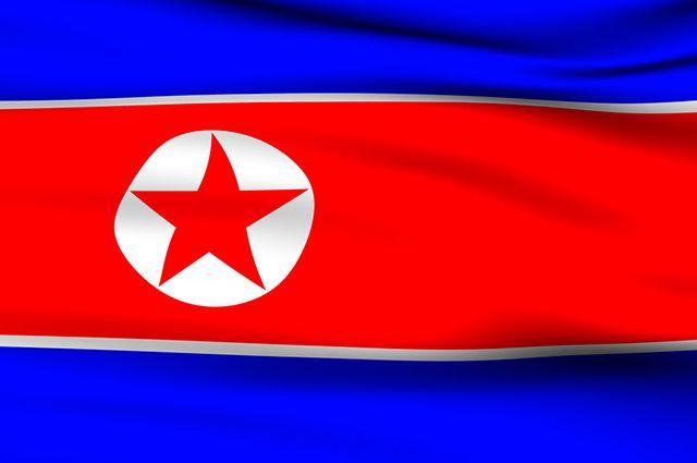 Resultado de imagem para bandeira da coreia do norte