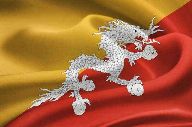 Significado da bandeira do Butão