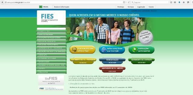 Fies irá manter limite de R$ 5 mil/mês para financiamento estudantil