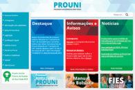 Inscrições para o ProUni terminam sexta-feira para estudantes não matriculados