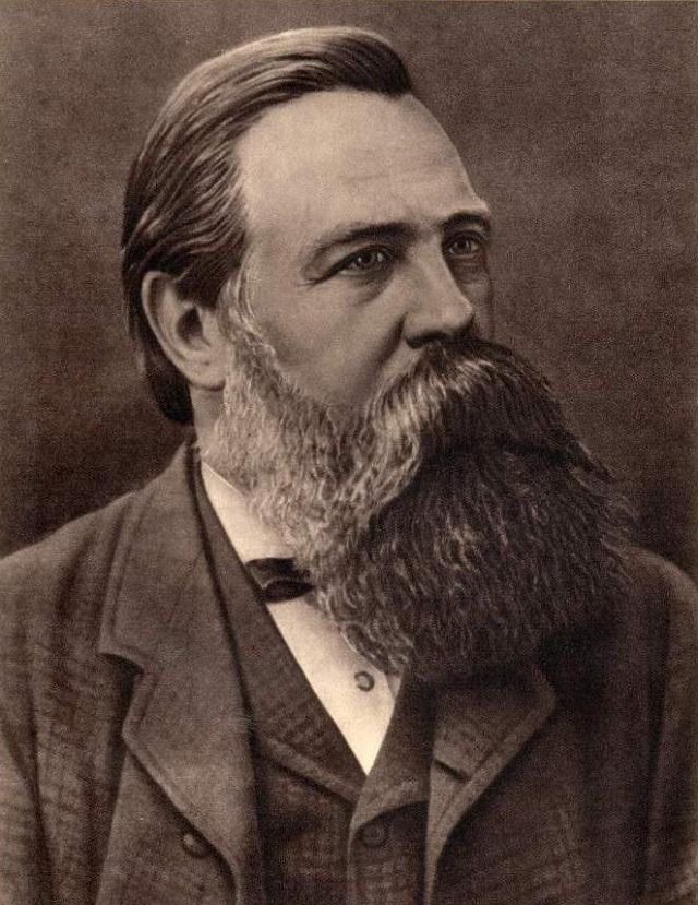 Friederich Engels, co-autor do Manifesto Comunista