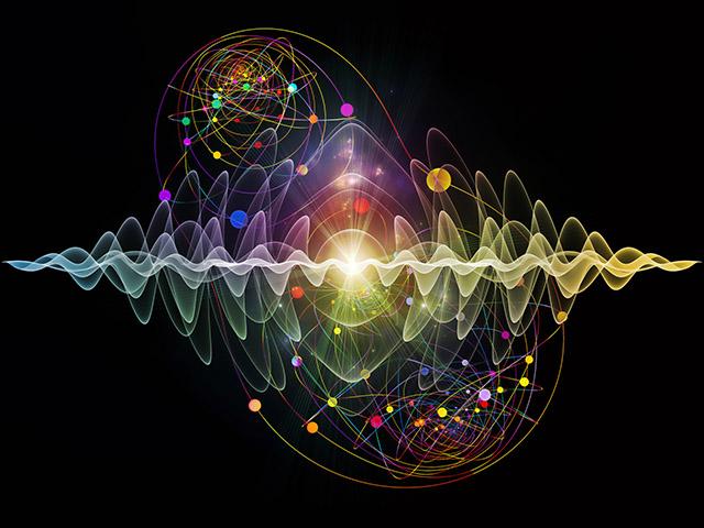 Imagem da onda quântica