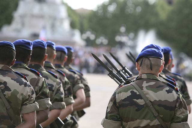 The UN peacekeeping force adopted the blue berets in the 1960s