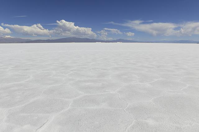 Essa reserva de sal ocupa um região de 3 mil quilômetros quadrados