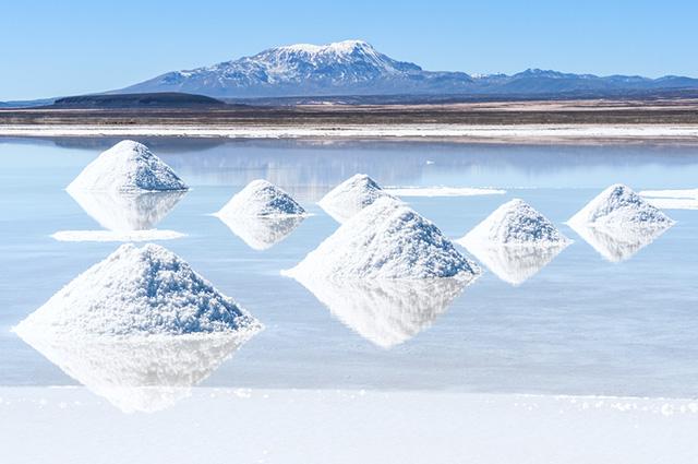 Essa reserva de sal possui mais de 10 mil quilômetros quadrados