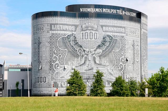 O Office Center 1000, na Lituânia, é um dos prédios mais diferentes do mundo