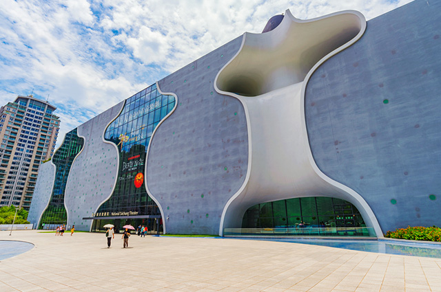 O Teatro Nacional de Taichung, na China, é um dos prédios mais diferentes do mundo