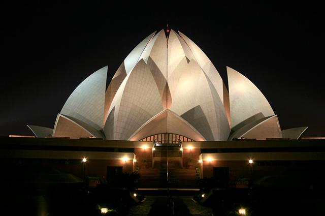 O Templo de Lótus, na Índia, é um dos prédios mais diferentes do mundo