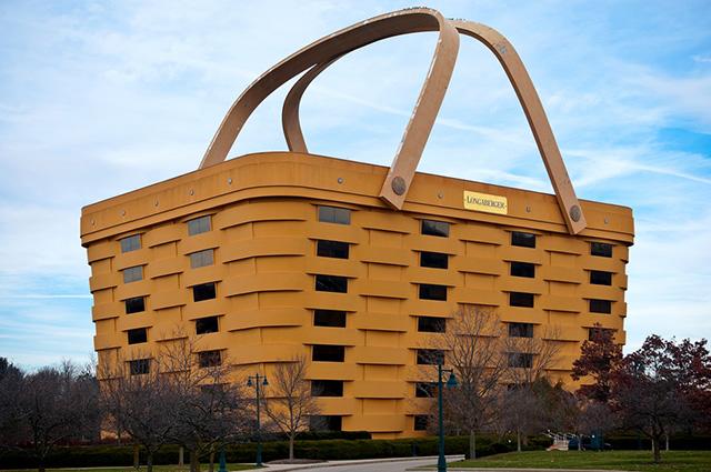 O The Basket, nos Estados Unidos, é um dos prédios mais diferentes do mundo