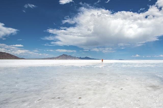 Essa reserva de sal possui 104 quilômetros quadrados de área