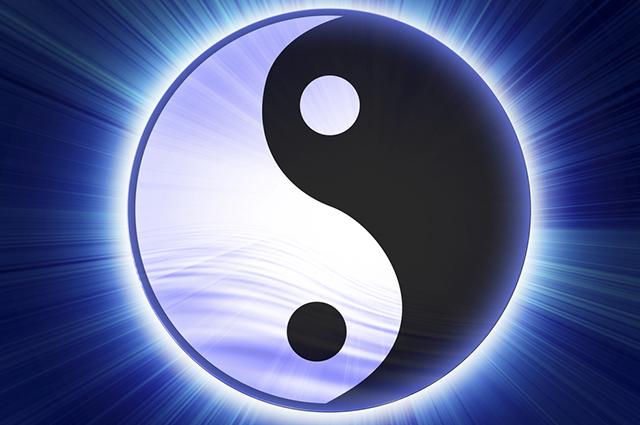 O Yang é representado como o Tigre e o Yin como o Dragão
