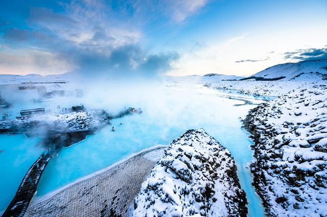 O Blue Lagoon, na Islândia, é um dos algos mais bonitos do mundo