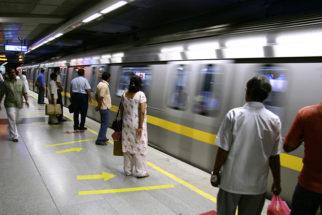 Como andar de metrô