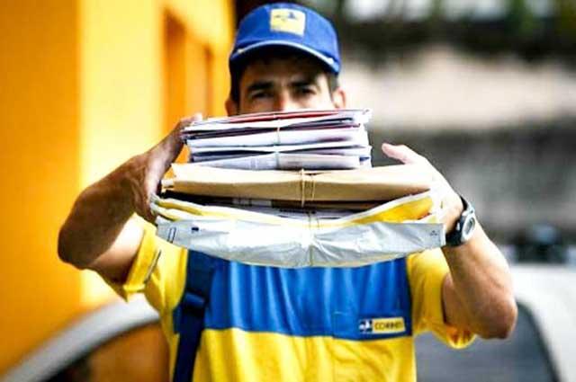 Os Correios possuem 120 mil empregados em todo o país