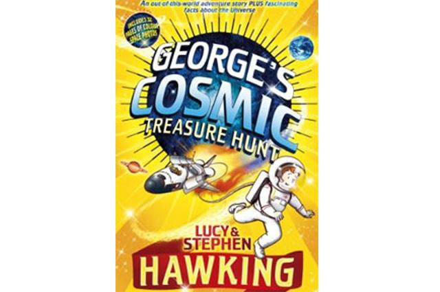 Sucesso entre as crianças, livro George e o Caçador do Tesouro Cósmico foi lançado em 2009