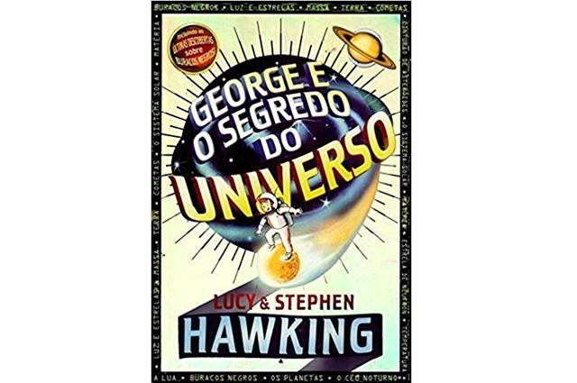 Um dos principais infantis, livro George e o Segredo do Universo é outro título do cientista