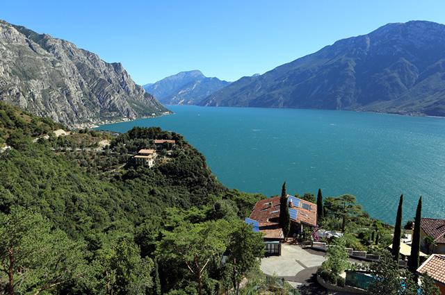 O Lago Garda, na Itália, é um dos lagos mais bonitos do mundo