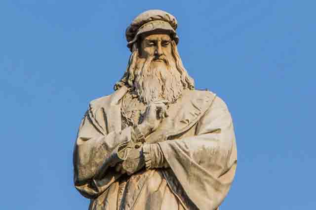 Leonardo da Vinci é considerado um raro exemplo de desenvolvimento de diversas habilidades
