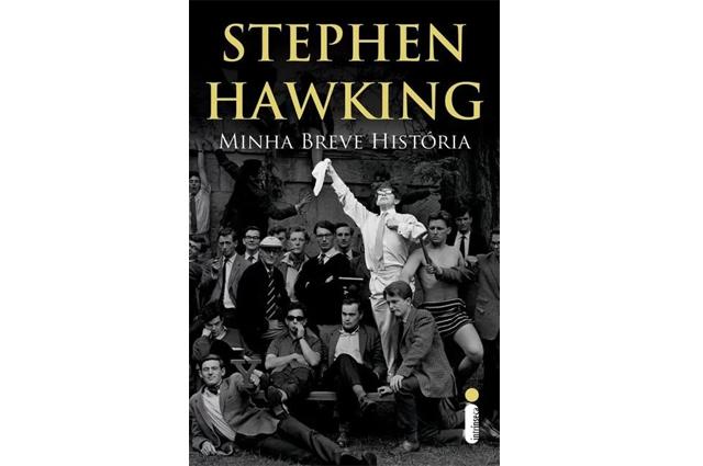 Auto-biografia de Hawking, livro Minha Breve História é outra obra de sucesso do cientista