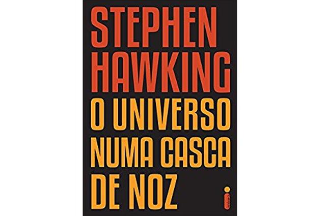 Livro O Universo Numa Casca de Noz foi outro título de sucesso de Hawking