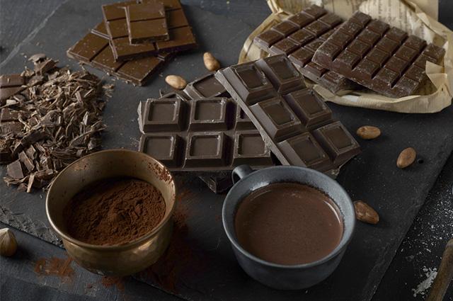 O primeiro chocolate do mundo foi desenvolvido por volta de 1519