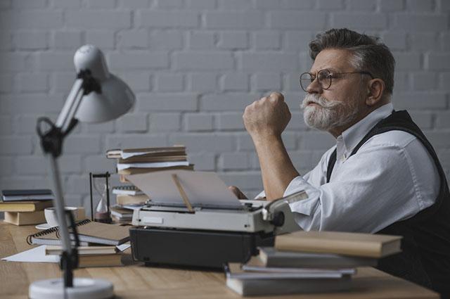 Ser um escritor é uma profissão para quem gosta de redação