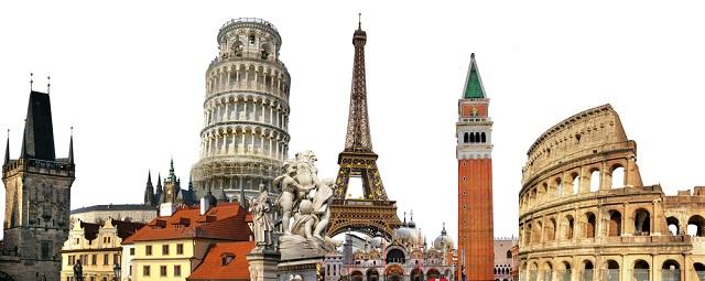Os países da Europa concentram os maiores pontos turísticos do mundo