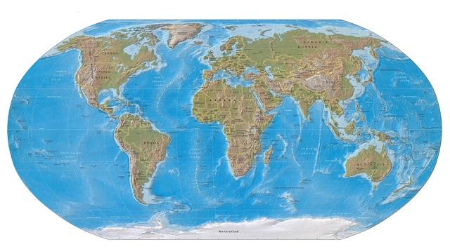 Na Babilônia, se representam territórios em argila, numa espécie de mapa mundi