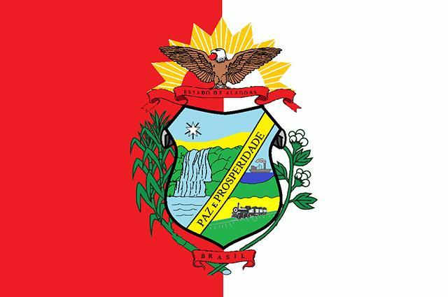 Bandeira antiga do estado de Alagoas