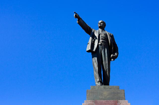 Lenin foi um dos líderes bolcheviques que liderou a Revolução Russa