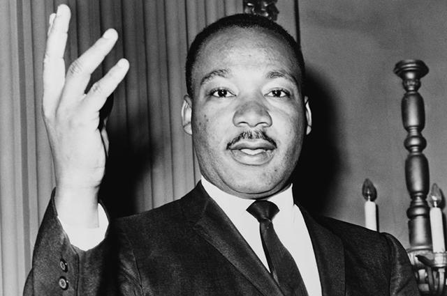 Martin Luther King nasceu em 1929 em Atlanta, no estado da Geórgia, nos EUA