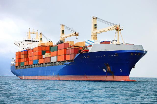 O transporte hidroviário, a exemplo do navio, é um tipo de modal de transporte