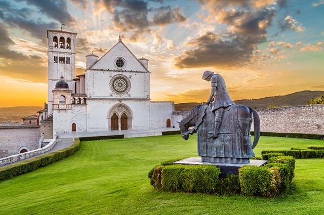Assis faz parte das 11 principais cidades da Itália para turismo