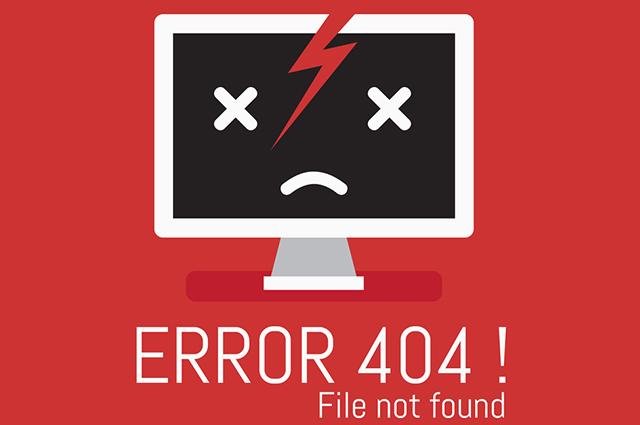 Imagem com computador quebrado e triste