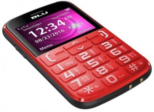 O modelo Blu Joy J010 Dual Sim é uma boa opção de celular para idoso