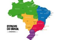 Mapa do Brasil completo com estados, capitais e regiões