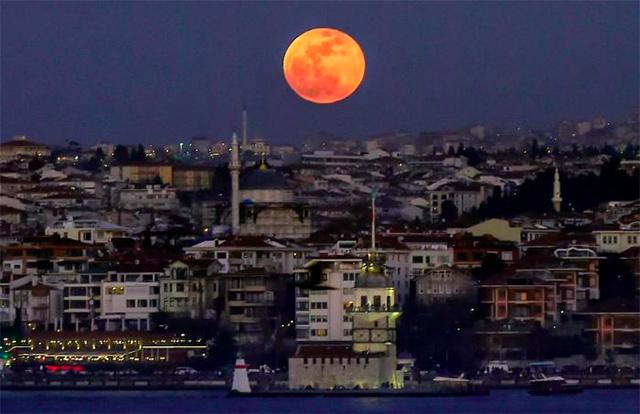 lua de sangue fotos incríveis