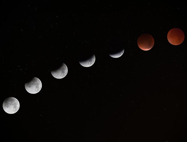 Explicação científica para lua de sangue