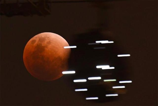 Lua Vermelha em Singapura