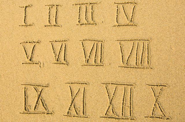 A tabela de números romanos foi criada devido a necessidade de contabilizar impostos e fortunas