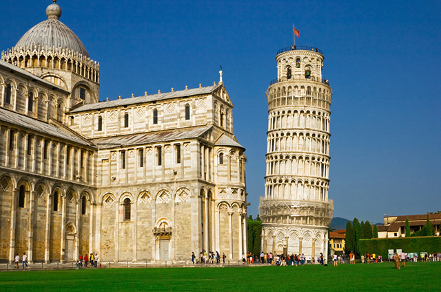Pisa faz parte das 11 principais cidades da Itália para turismo