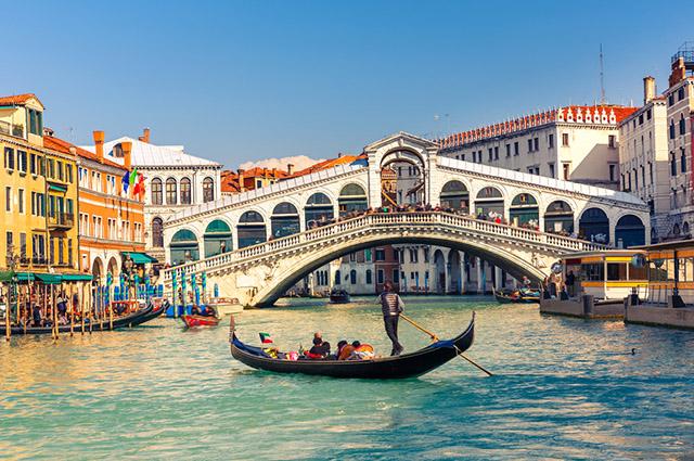 Veneza faz parte das 11 principais cidades da Itália para turismo