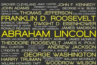 Lista com mais de mil sobrenomes americanos