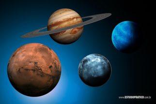 Quais são os maiores planetas do nosso Sistema Solar?