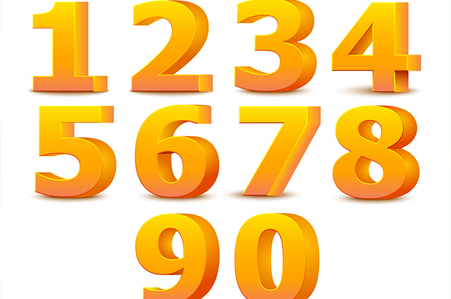 cardinal numbers estude números cardinais em inglês estudo prático