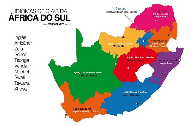 Idiomas da África do Sul