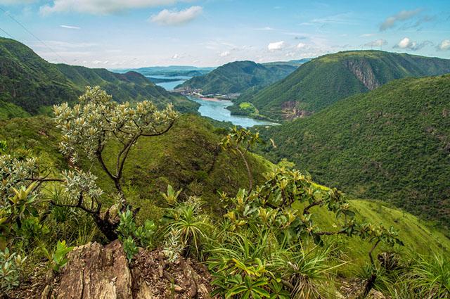 Vista do Parque Nacional Serra Canastra