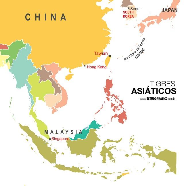 Tigres Asiaticos Quem Sao E O Que Fazem Estudo Pratico