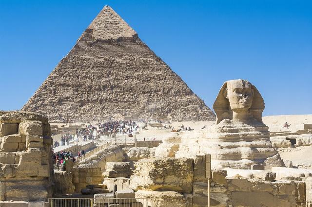 Construções antigas do Egito